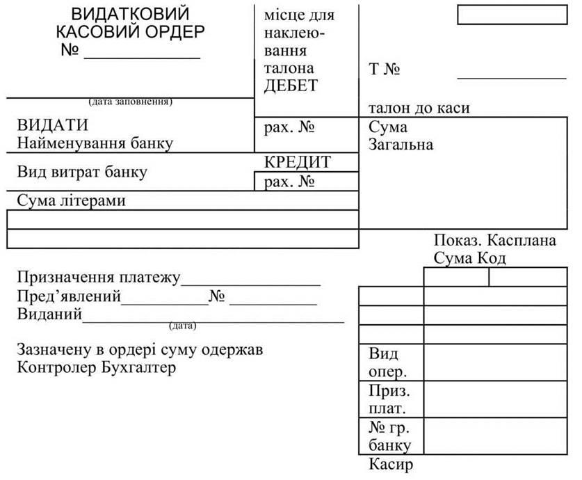 Журнали Ордери Бухгалтерського Обліку Бланки В Україні